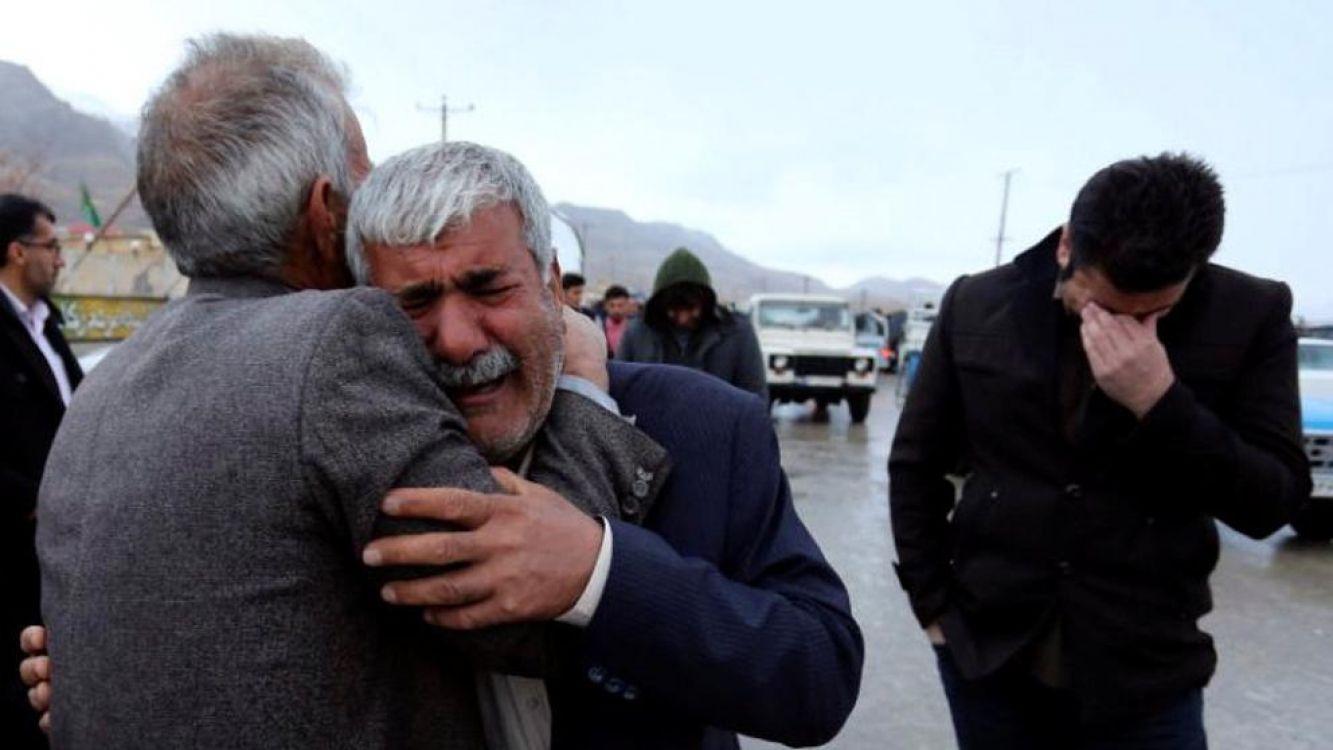Se estrelló un avión en Irán con 65 personas
