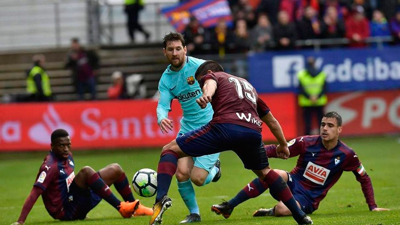 Messi sigue sumando récords en la Liga de España