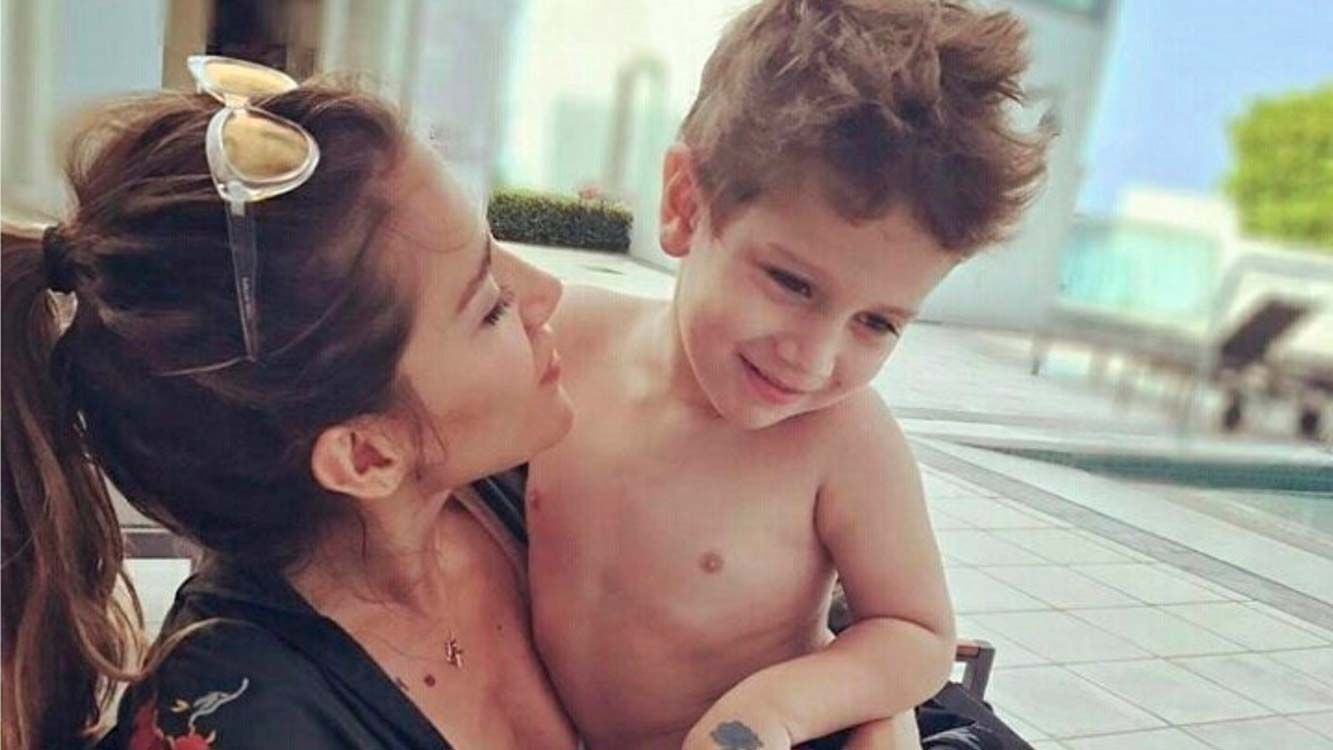 JimenaBaróndejó en claro que no necesita a ningún hombre para ser feliz, excepto a su hijo, el pequeñoMomo.