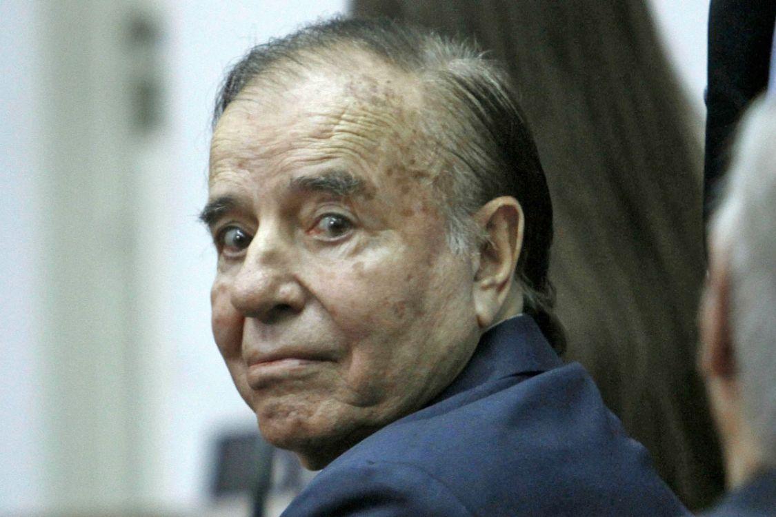 """Carlos Menem: """"En todos los gobiernos hubo corrupción, salvo en el mío"""""""