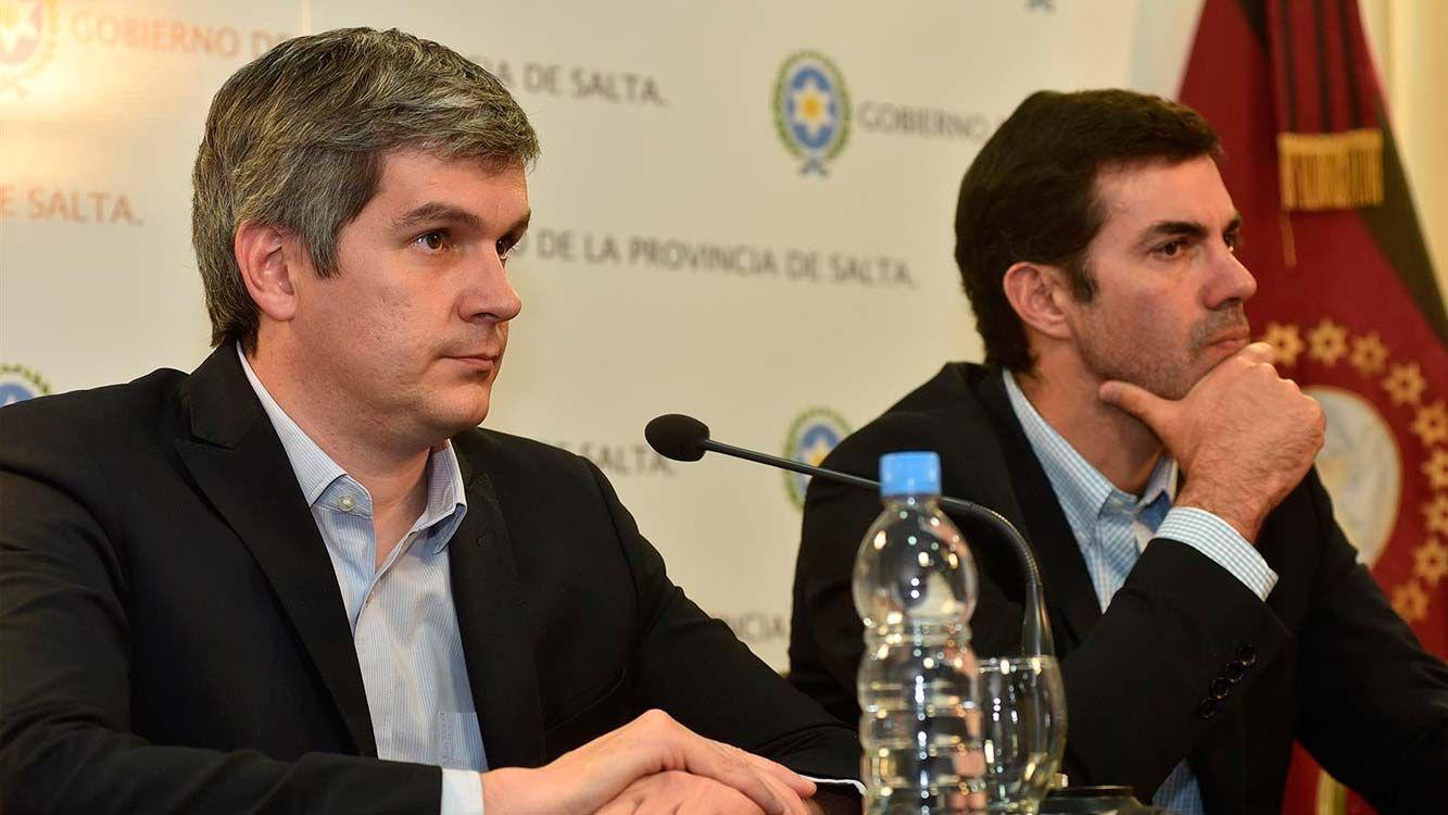 Peña también estuvo reunido con Urtubey, anunciando el inicio de la segunda etaoa del Plan Belgrano.
