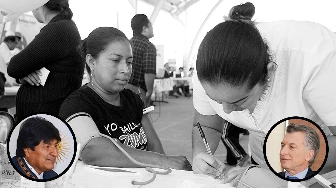 Bolivia rechazó el pedido de la Argentina para la reciprocidad en la atención médica de inmigrantes