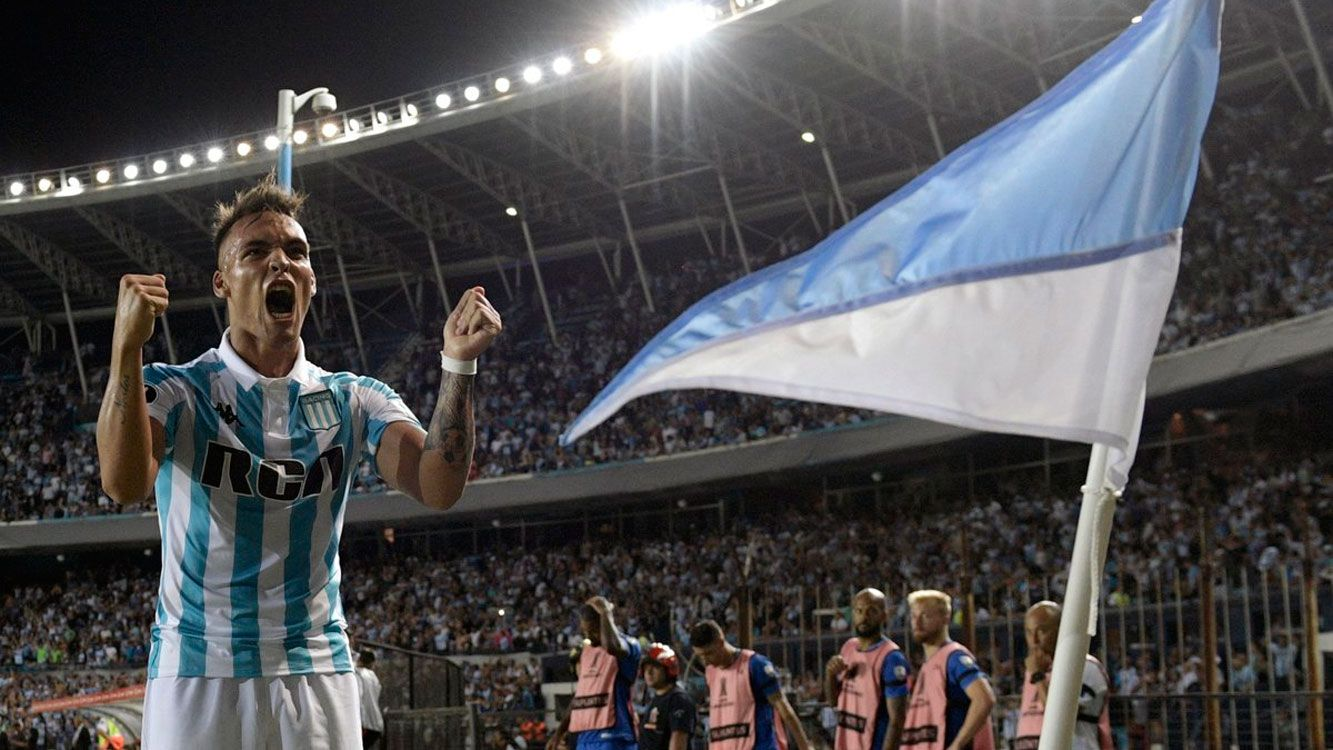 Racing arranca sumando de a tres puntos en un grupo que  tiene a Cruzeiro, Vasco da Gamma y a la Universidad de Chile.
