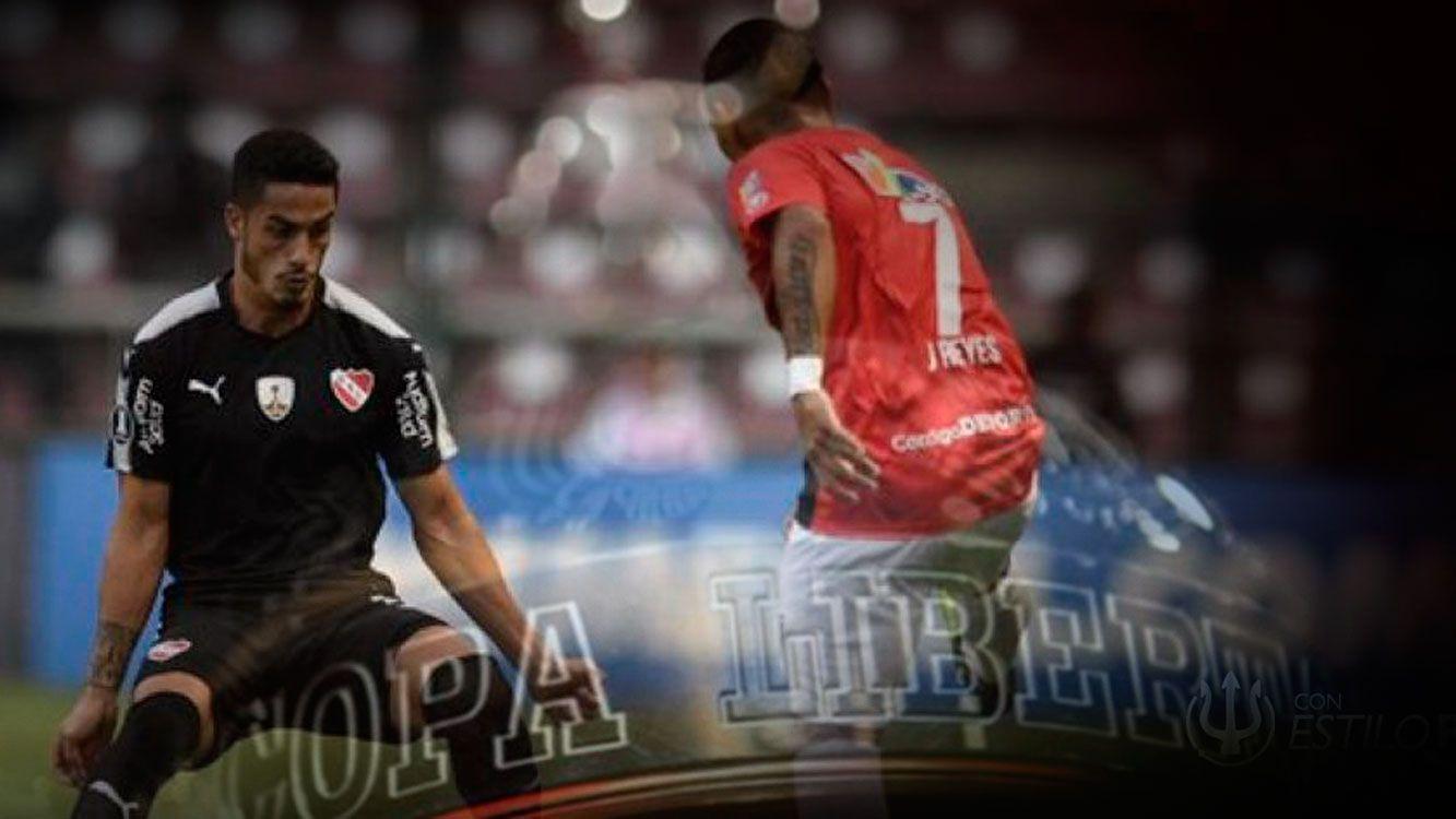 Independiente cayó de visitante en su debut en la Libertadores