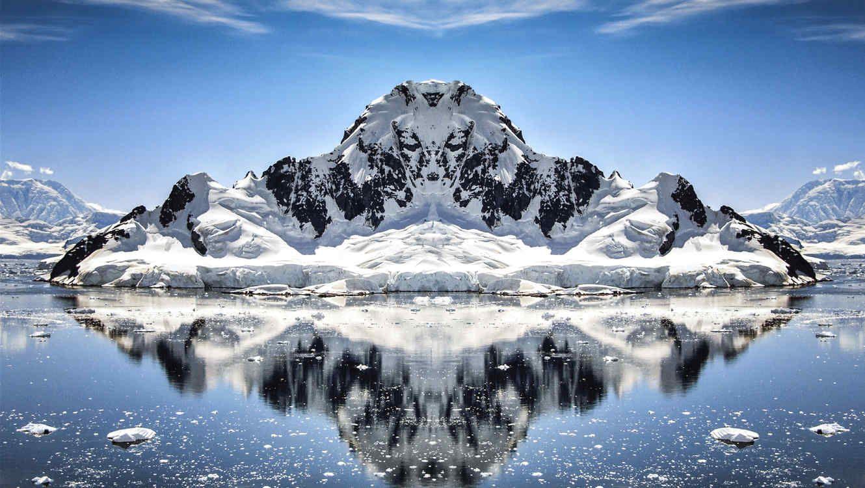 Encuentran supuesto ovni estrellado en la Antártida . Video
