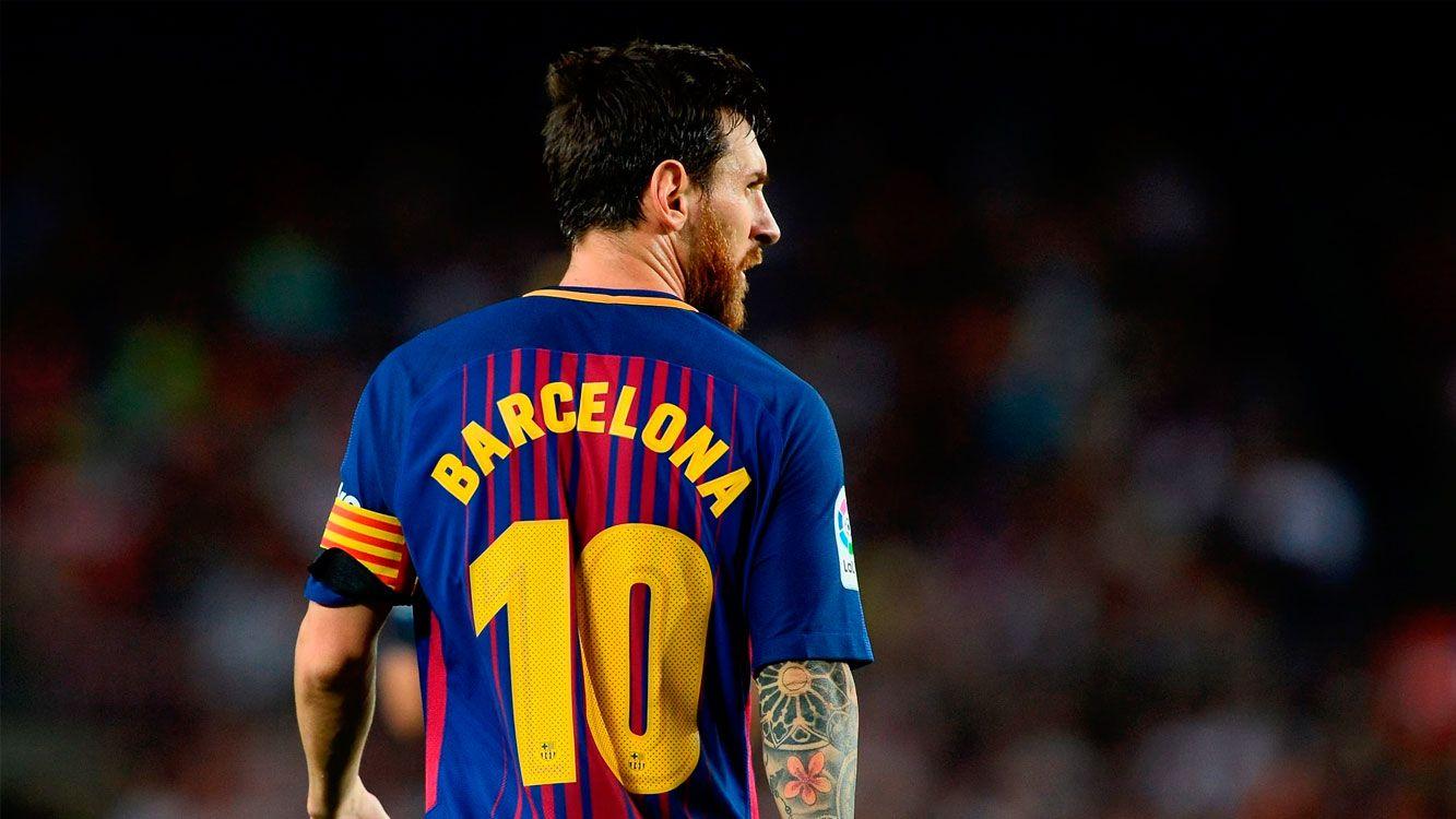"""Admitió: """"Es difícil que puedan pagar la cláusula de Messi, pero no tengo una bola de cristal y hoy en día las cosas se han vuelto un poco locas""""."""