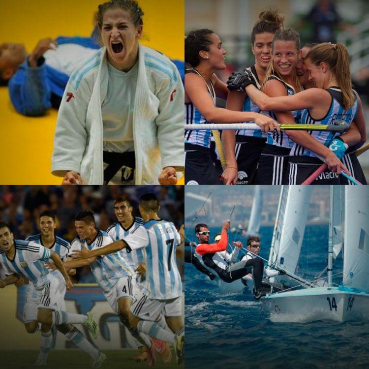 La selección de fútbol, las leonas, la judista Paula Pareto y el yachting representan la mayor esperanza de conseguir el oro para el país.