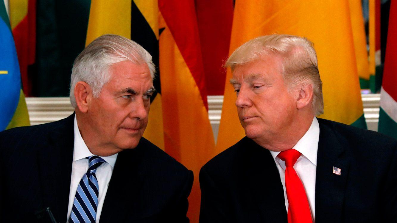 Según explicaron altos funcionarios de la Casa Blanca a la agenciaAFP, Trumpquiso cambiar su equipo antes las negociaciones con Corea del Norte.