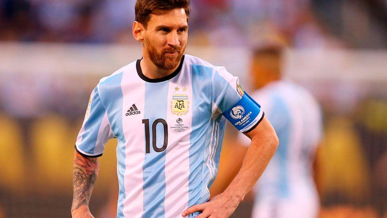 """Messi: """"uno ya piensa en el mundial, mucha gente espera que Argentina gane y se me de"""""""