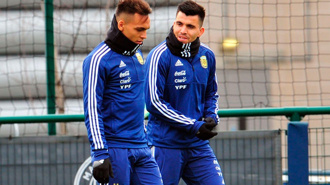 ¡El sueño del pibe! Lautaro Martinez conoció a Lionel Messi