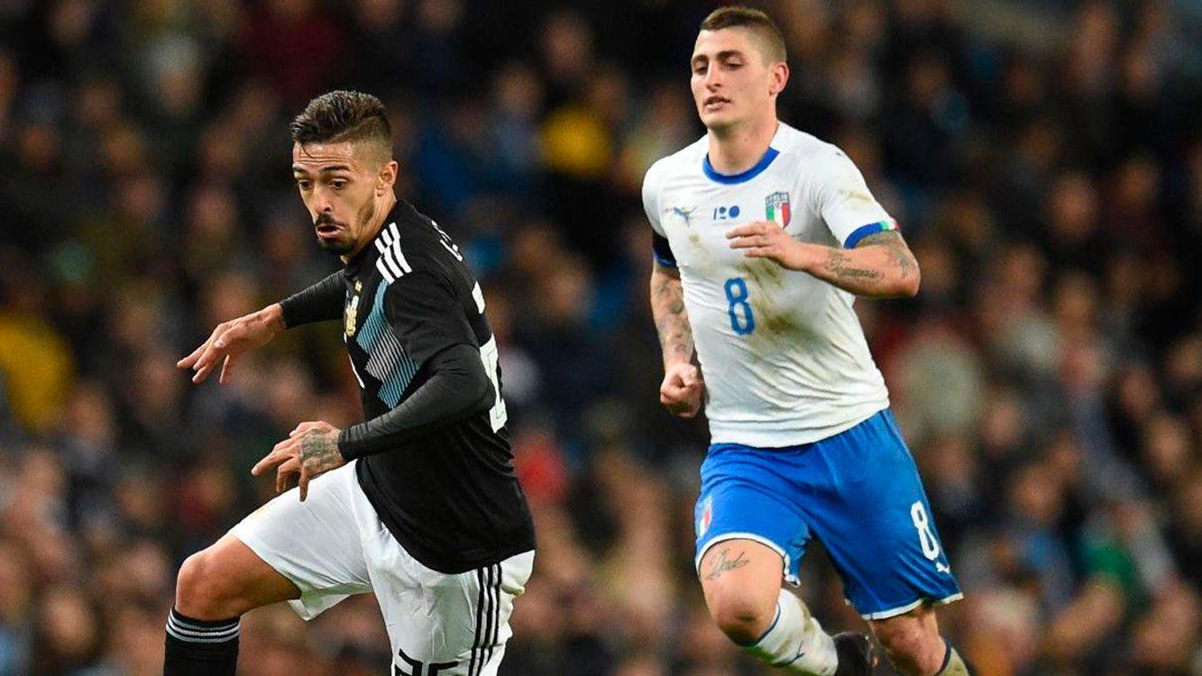 Argentina le ganó 2 a 0 a Italia  y se prepara para el encuentro ante España