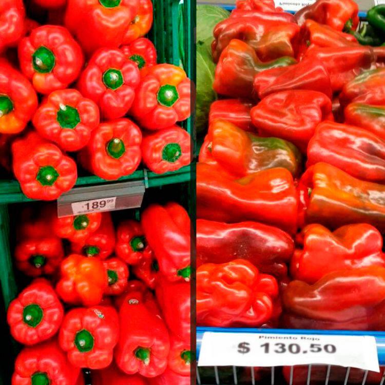 A la izquierda, el precio en Tucuman, a su derecha, el precio en Salta Capital. En ambos lados coincide la gran inflaciòn en el precio.