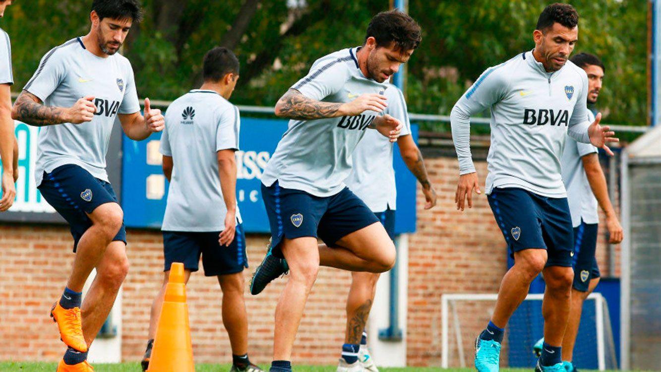 Fernando Gago será evaluado en los próximos días para saber si puede jugar ante Newell´s.