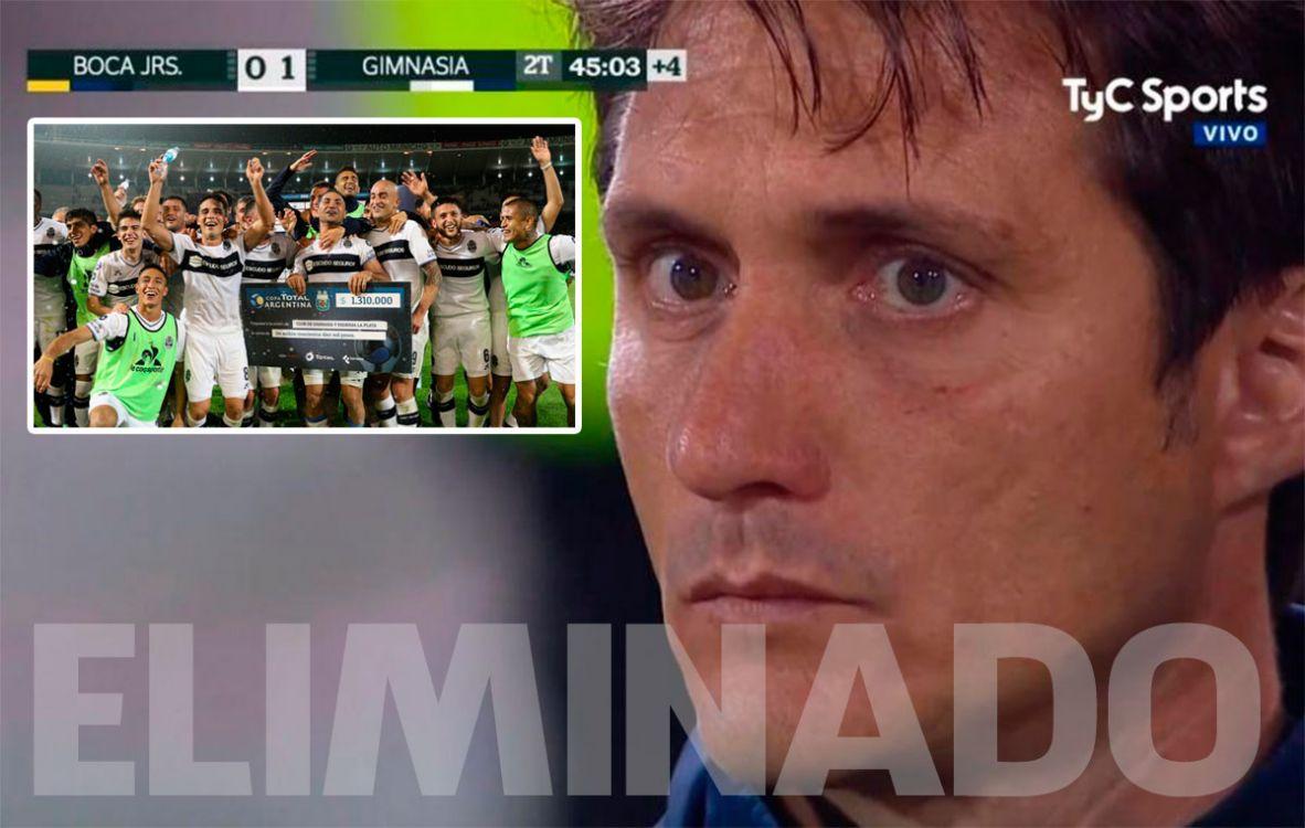 Boca eliminado de la Copa Argentina!