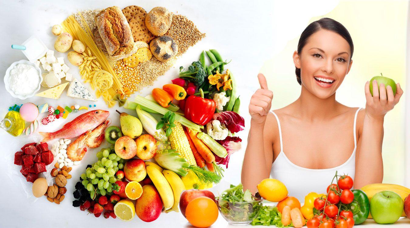 Una buena alimentación depende de muchas cosas, entre ellas, de tu edad.