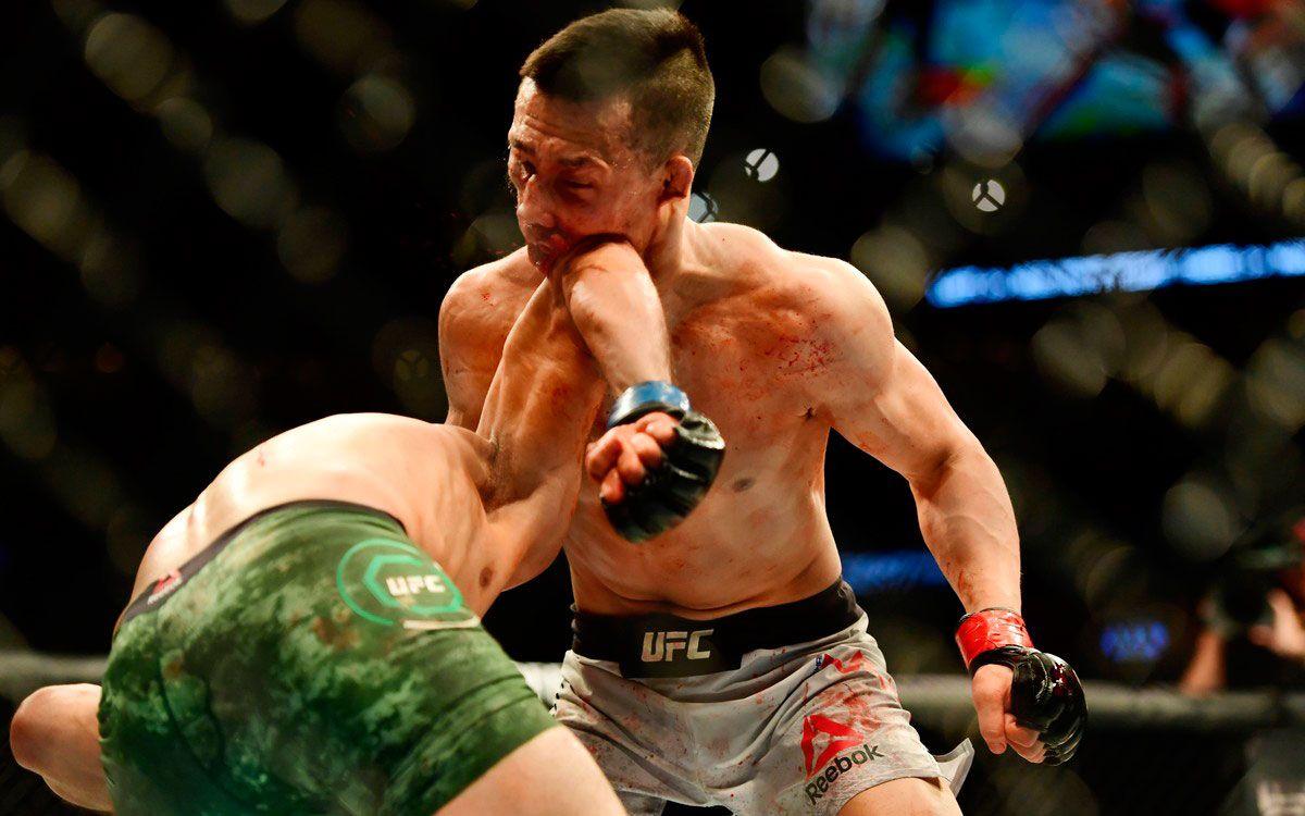 Yair Rodriguez, autor del knockout del año en la UFC