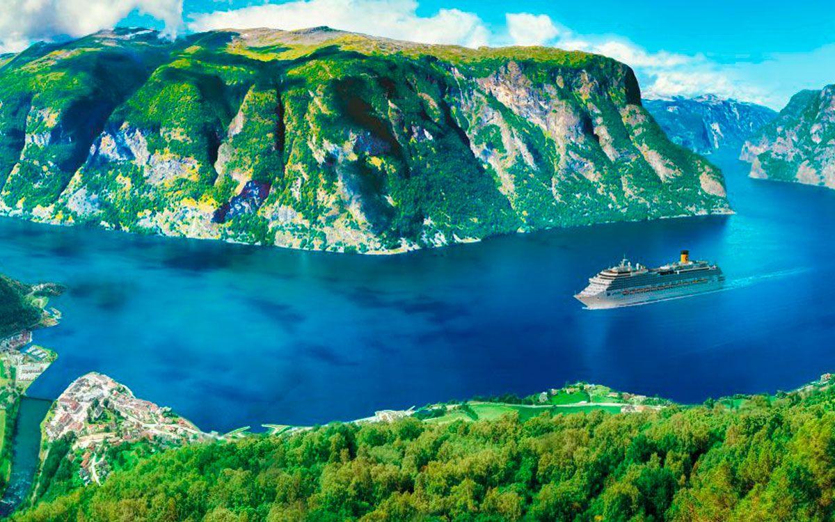 Crucero por los fiordos: descubrí la magia de los paisajes nórdicos