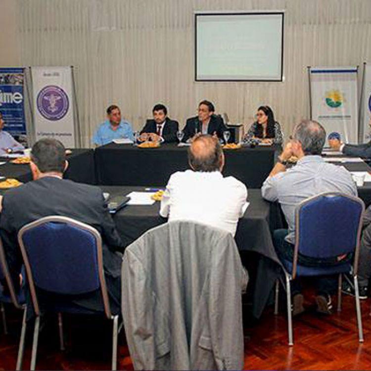 Consejo Ejecutivo de Seguridad Vial en una de sus reuniones.