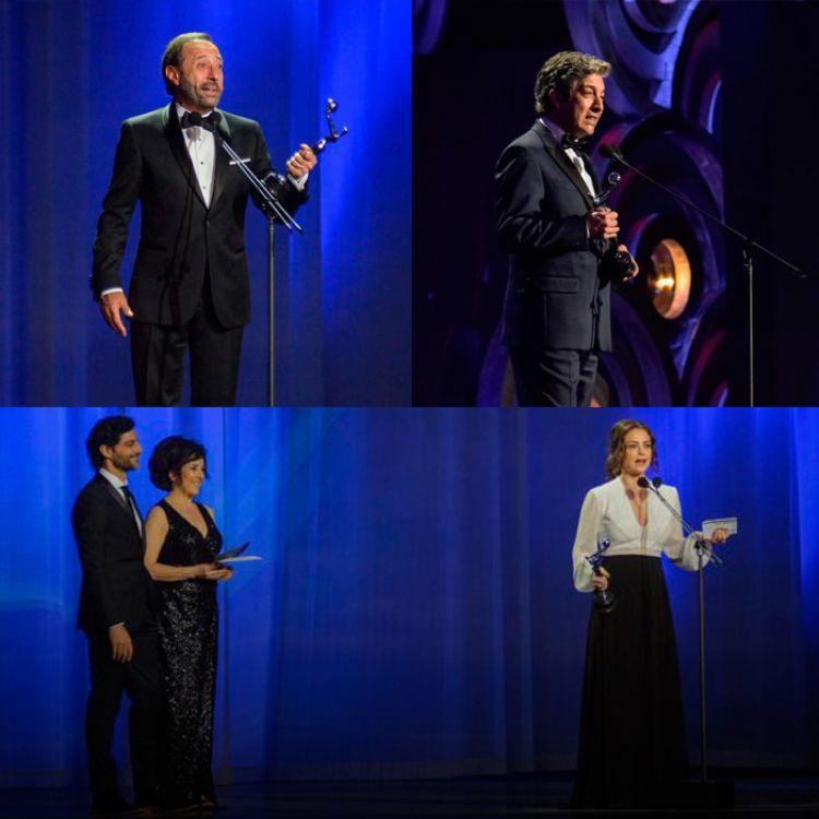 Premios Platino para Dolores Fonzi, Guillermo Francella y Ricardo Darín