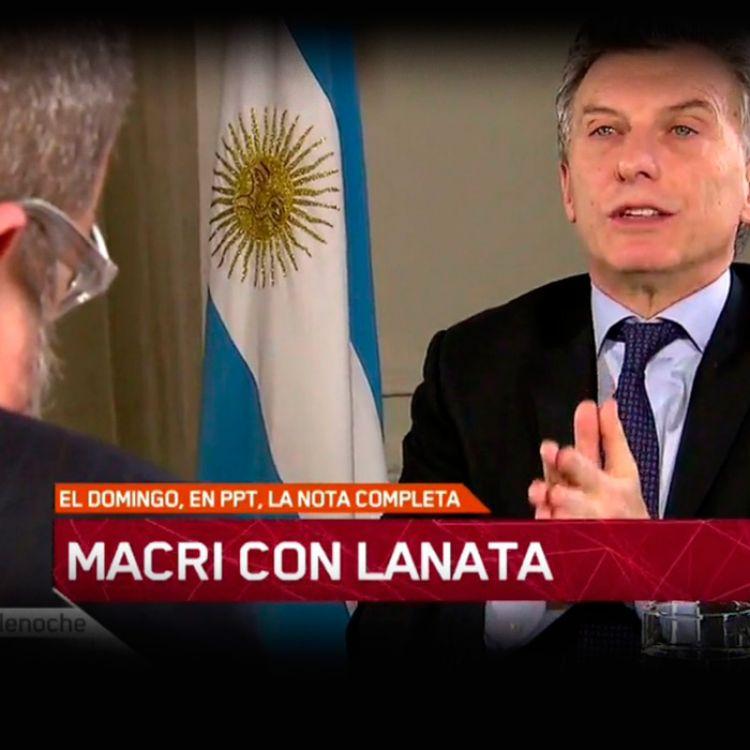 Mauricio Macri con Lanata, fijate que dijo el máximo mandatario