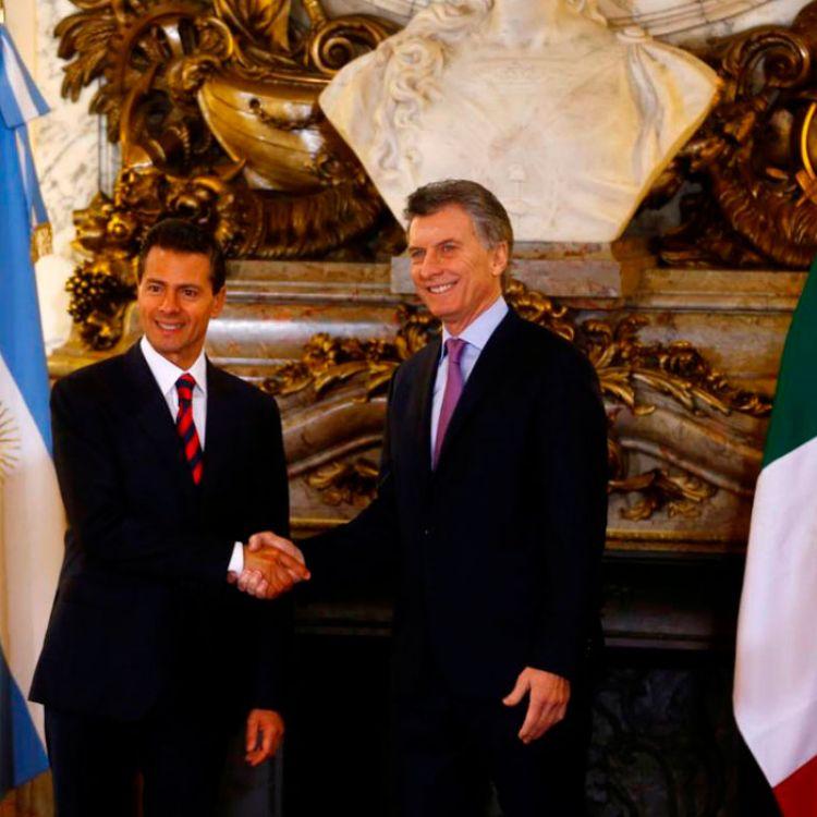 En el almuerzo se trata el libre comercio bilateral entre ambos países para el 2017.