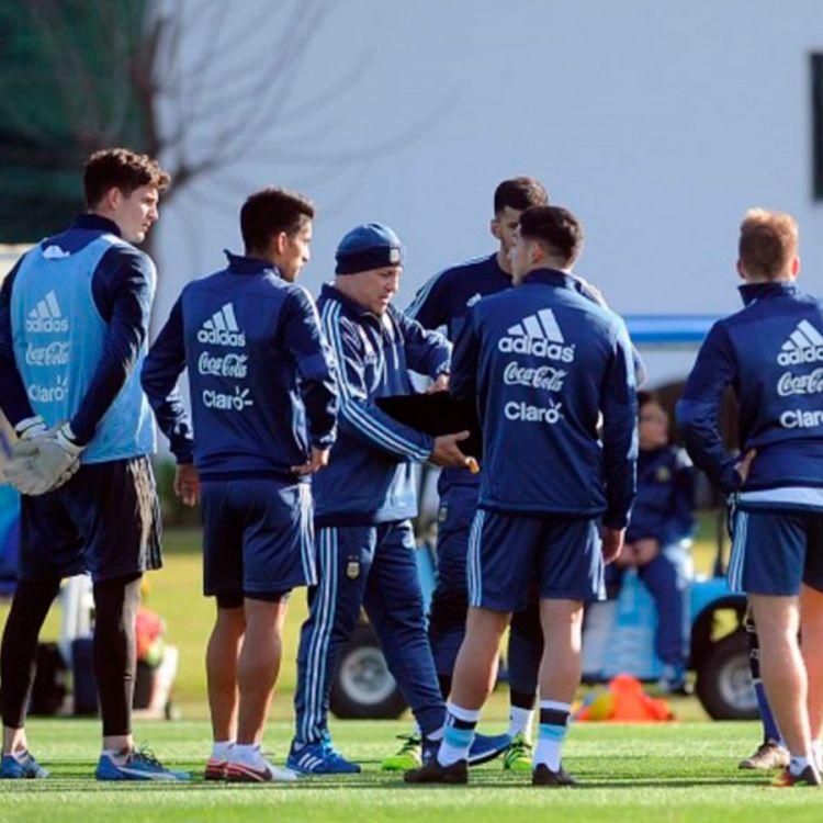 Con la llegada de Pavón, la Selección sub 23 se entrenó por primera vez en Río