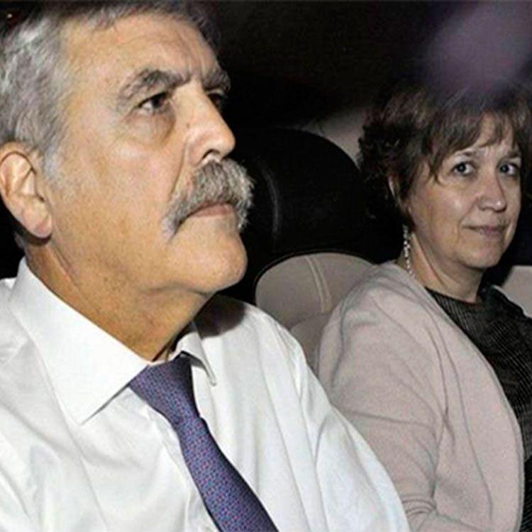Julio De Vido y su esposa