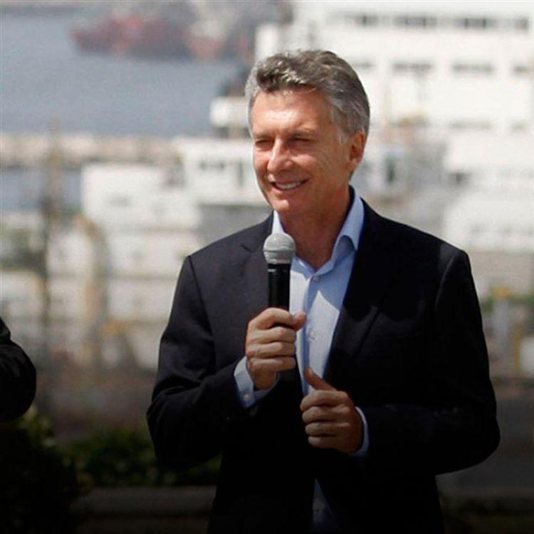 Macri tiene un día bastante movido, entre inauguraciones y reuniones con los sindicalistas.