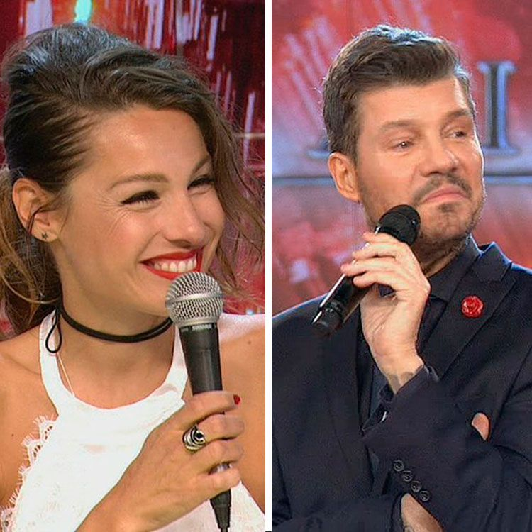 Pampita vs Tinelli