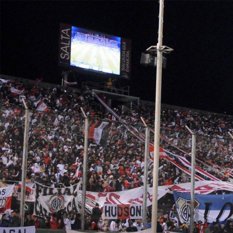 La hinchada de River Plate en Salta