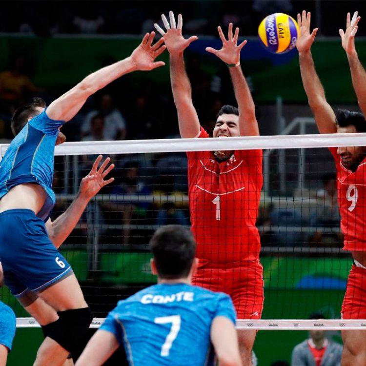 Argentina venció a Irán por 3 a 0