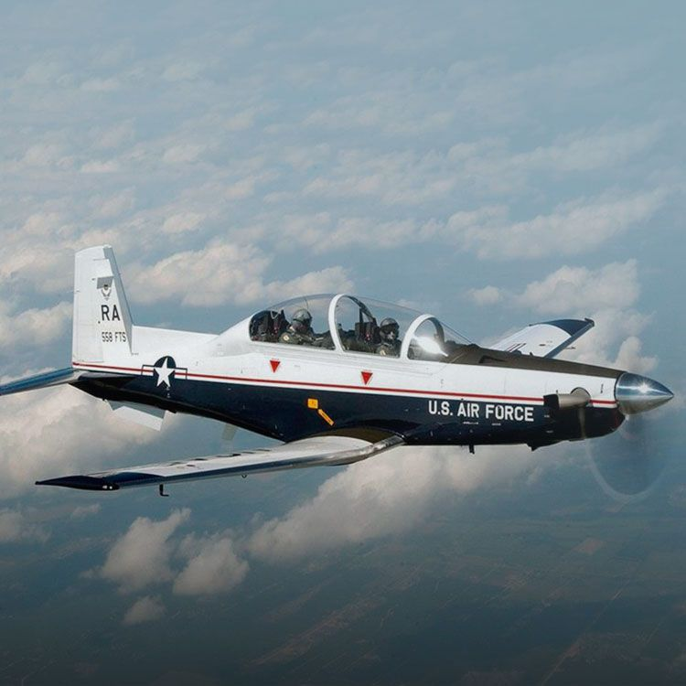 Aviones T6-C Texan