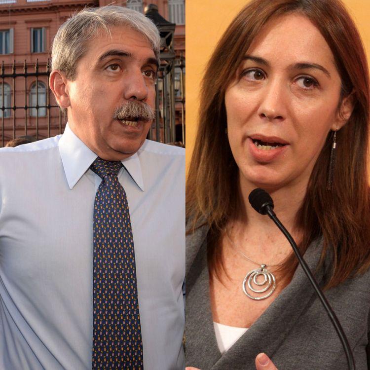 Anibal Fernández vs María Eugenia Vidal