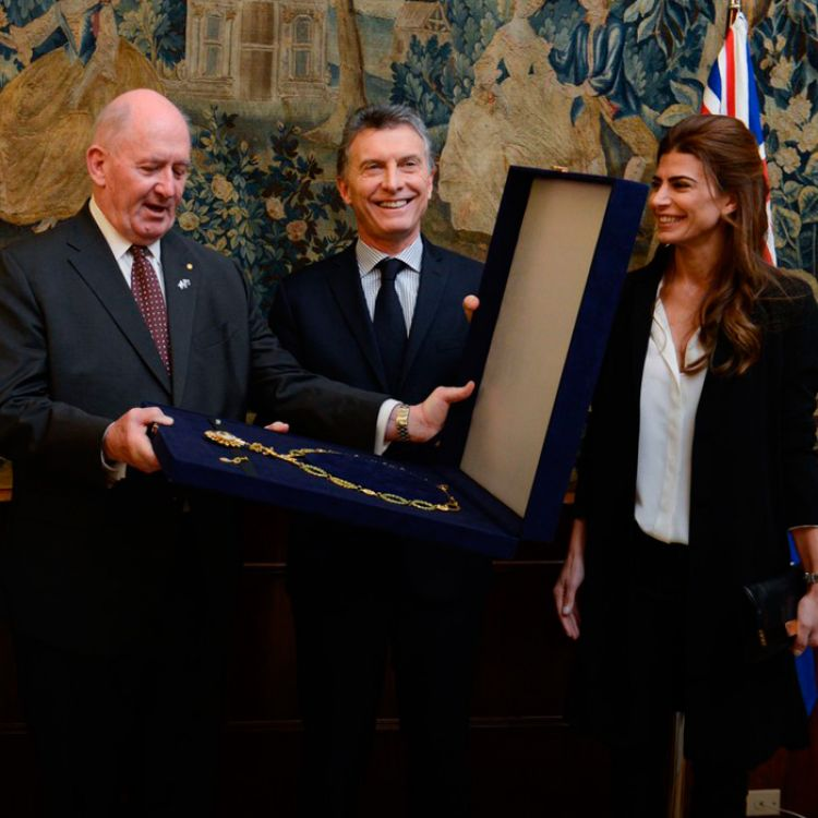 Ambos sellaron un compromiso para incrementar el intercambio comercial entre los dos países.