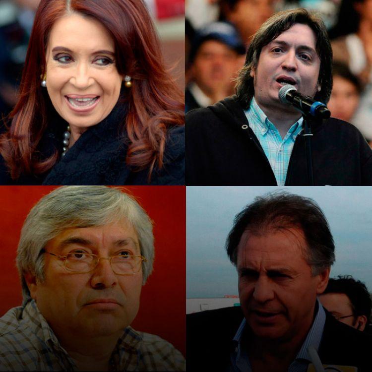 Se investiga el alquiler de inmuebles de los Kirchner a los empresarios K, Báez y López.