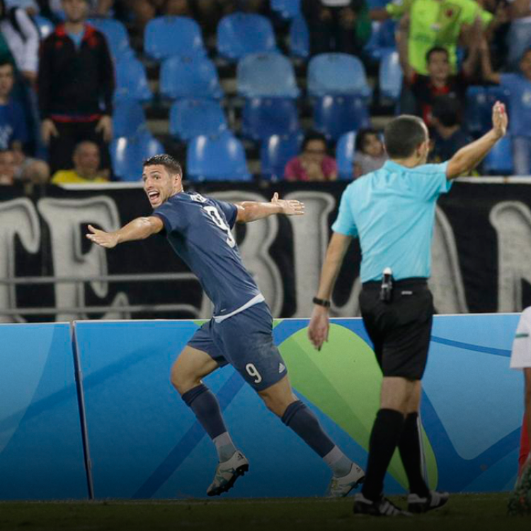 """El entrenadorJulio Olarticoecheadestacó que """"Honduras se cierra bien, pero Argentina tiene jugadores como para abrir esa defensa""""."""