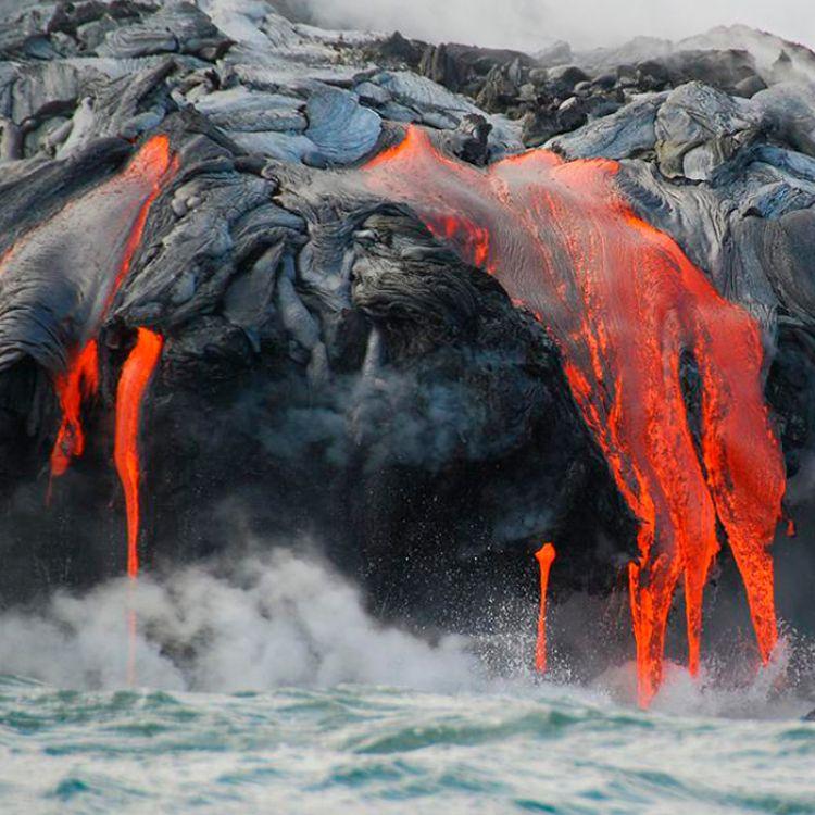 El volcán más grande de la Tierra