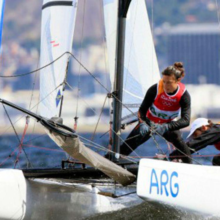 El yachting con esperanzas de medalla para Argentina