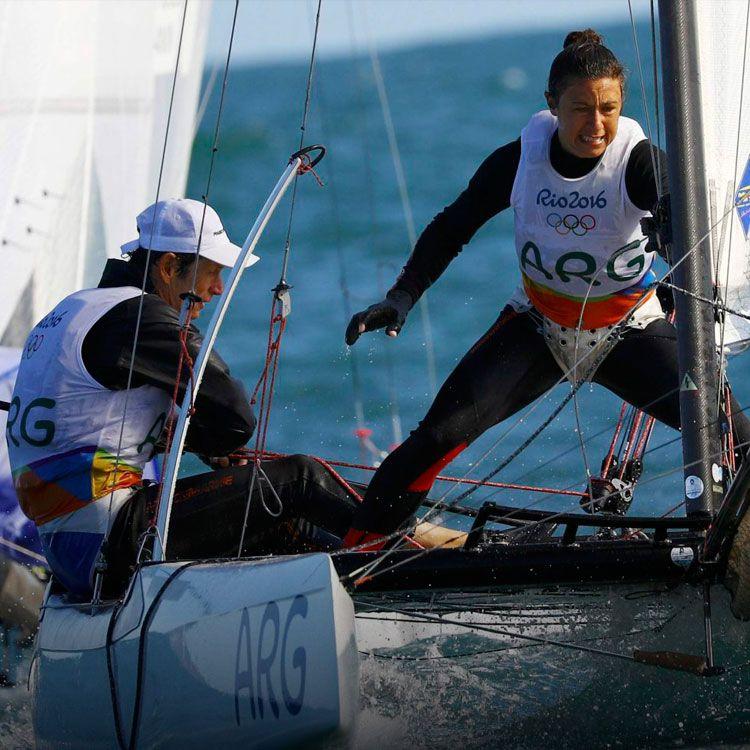Santiago Lange y Cecilia Carranza Saroli, por el oro olímpico de vela