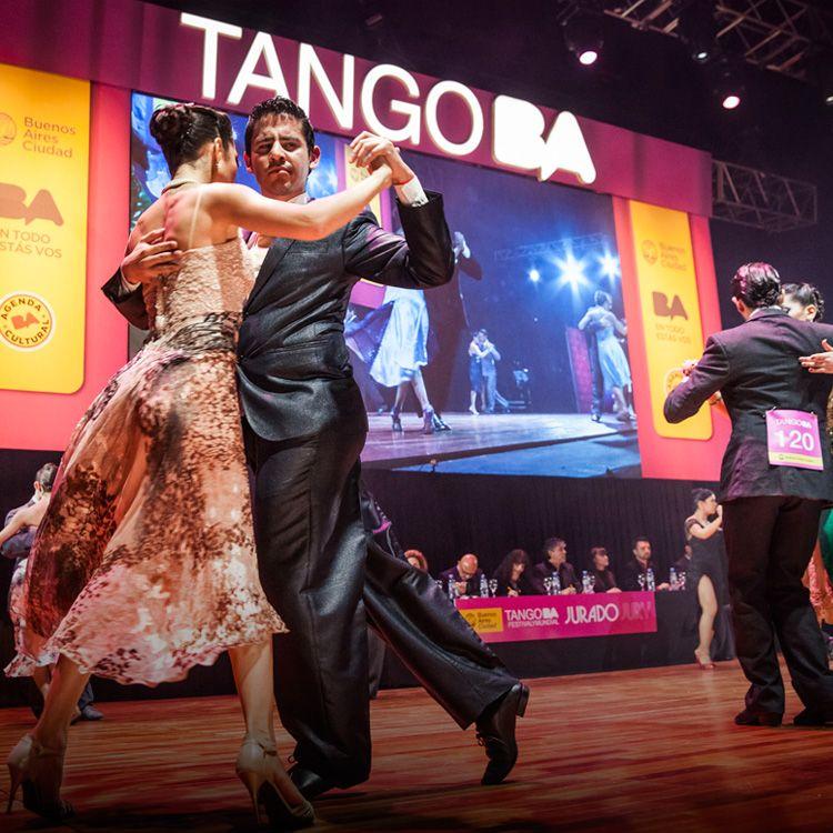 Comenzó el Festival Mundial de Tango