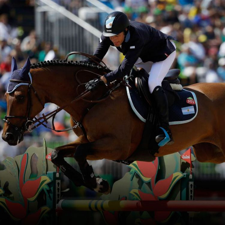 Matías Albarracín competirá en la final de equitación de los Juegos Olímpicos.