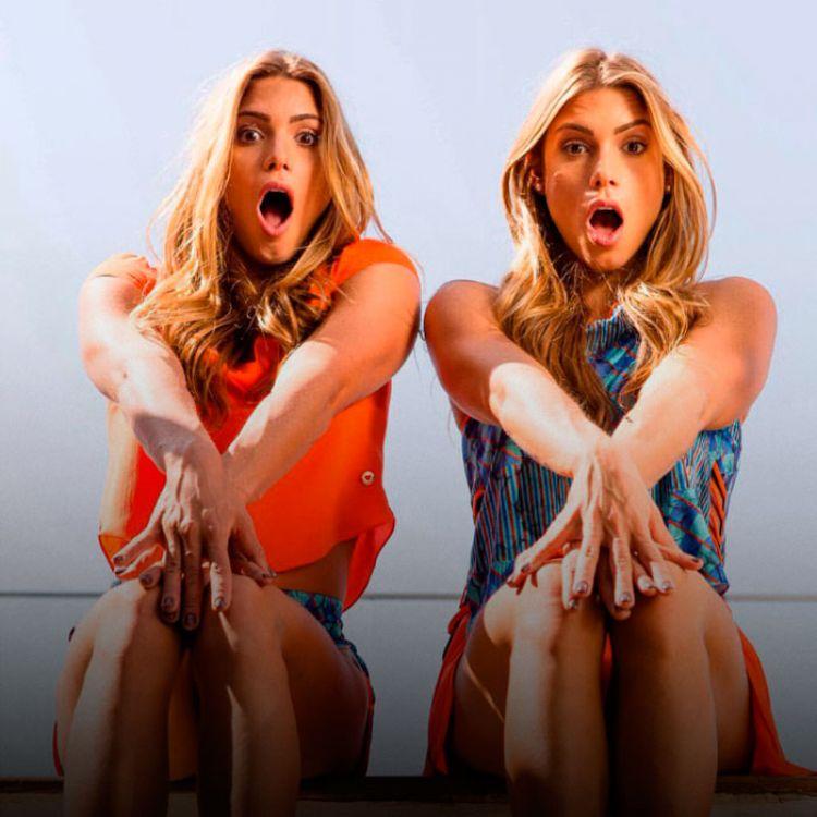 """Las gemelas actualmente trabajan de modelos y son la cara visible de distintas """"marcas"""" de ropa."""