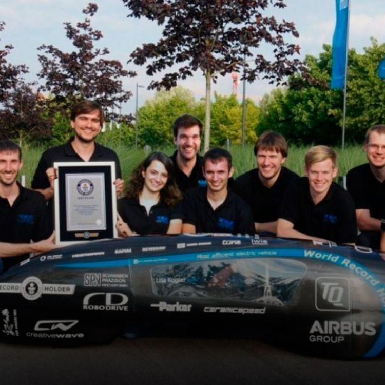 El proyecto obtuvo en julio de 2016,el Récord Guinnesscomo el auto más eficiente del mundo.