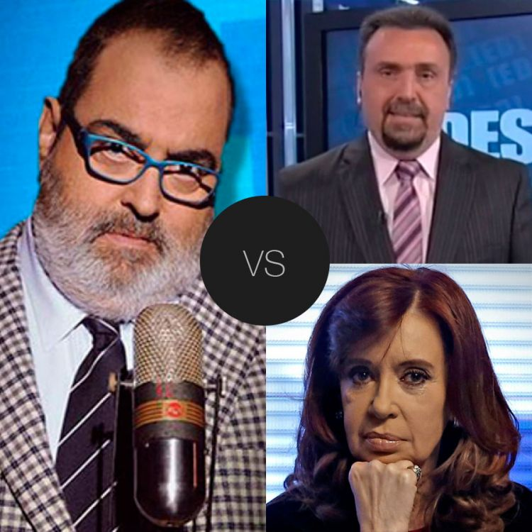 Lanata vs Navarro-Kirchner por el rating