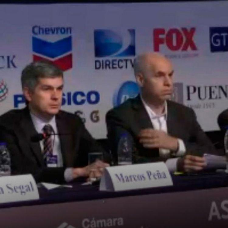 Marcos Peña dijo que la inflación está disminuyendo y pidió discutir el modelo económico futuro.