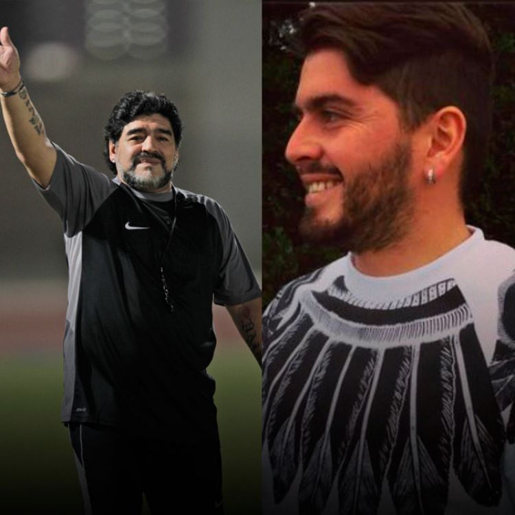 """SegúnJorge Rial, Maradona hasta se animó a decir la frase más ansiada por Diego Jr: """"Sos mi hijo""""."""