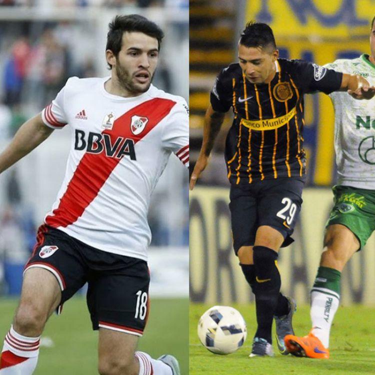 Camilo Mayada y Víctor Salazar