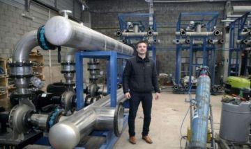 Proyecto tecnológico que podría potabilizar el agua de mar.