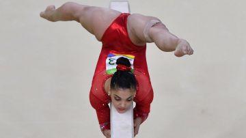 La norteamericana Lauren Hernandez (AFP)