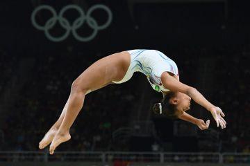Marine Boyer en plena competencia (Reuters)